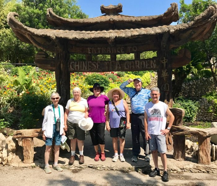 Japanese Tea Garden Walk in San Antonio