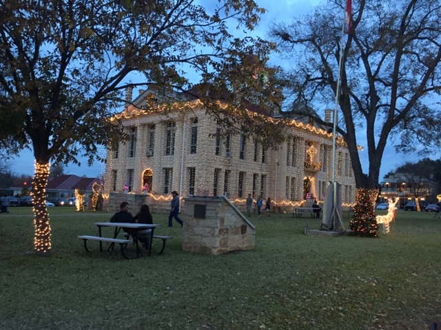 Johnson City Christmas Lights Walk