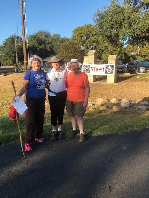 CRW Members at the Garden Ridge Walk