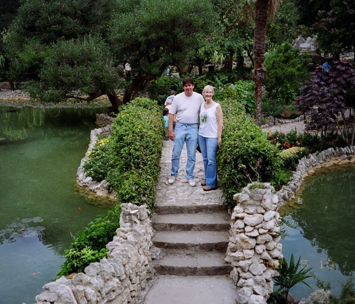 Japanese Tea Garden walk in San Antonio, Nov 23rd