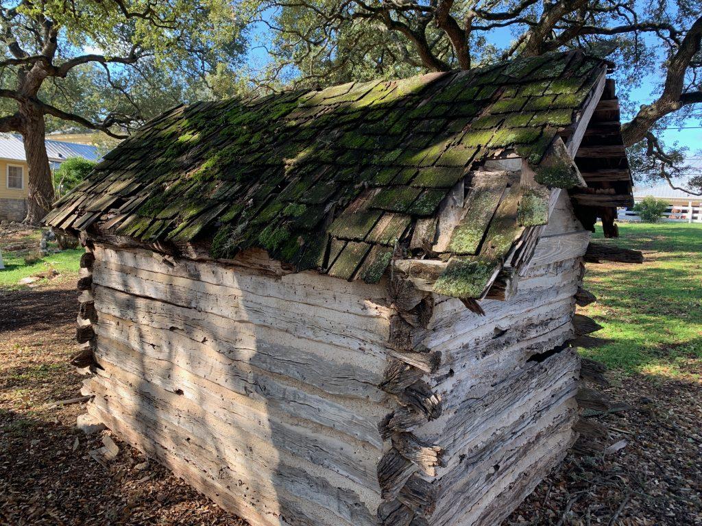 Historic cabin in Salado.