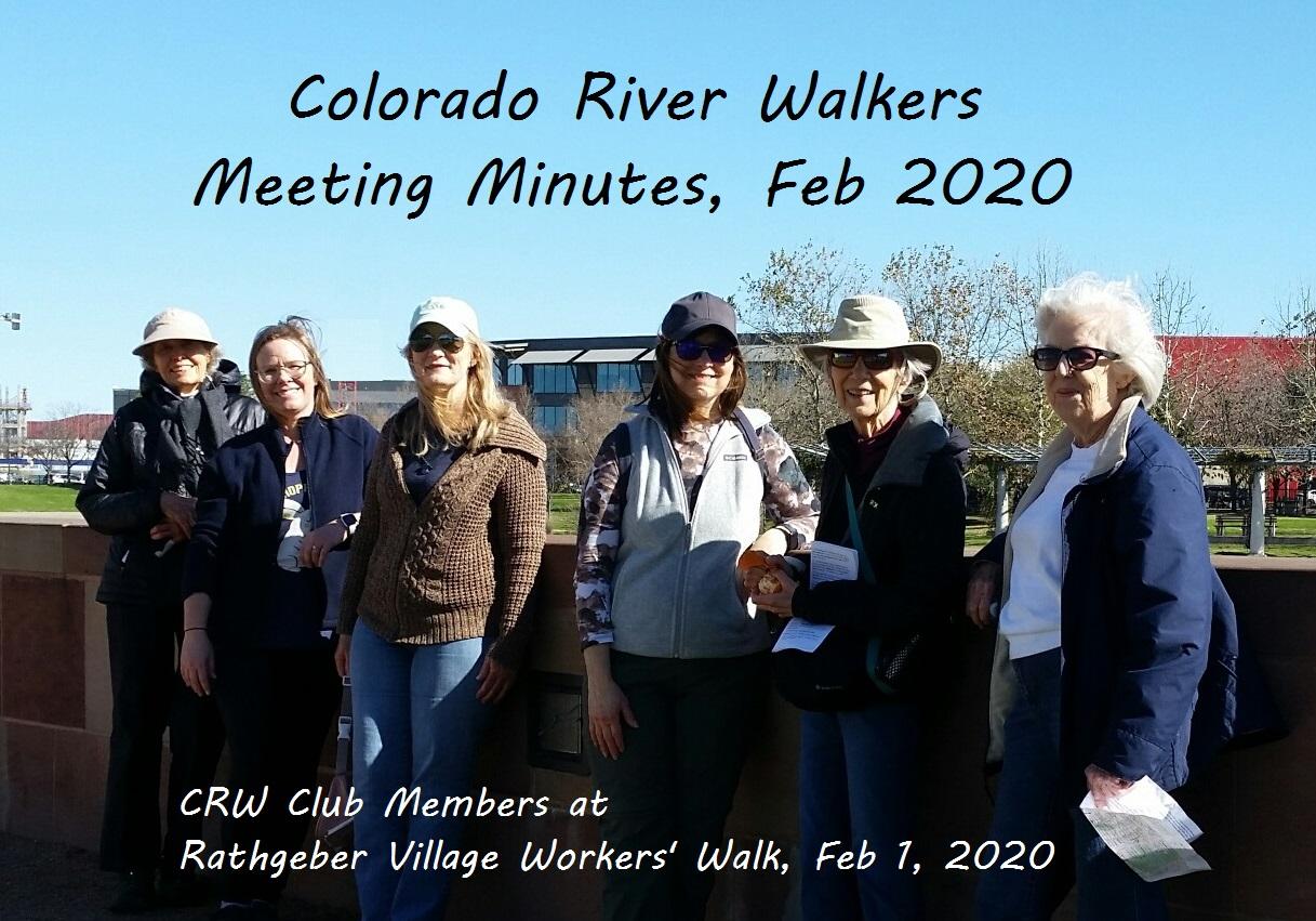 Meeting Minutes February 2020